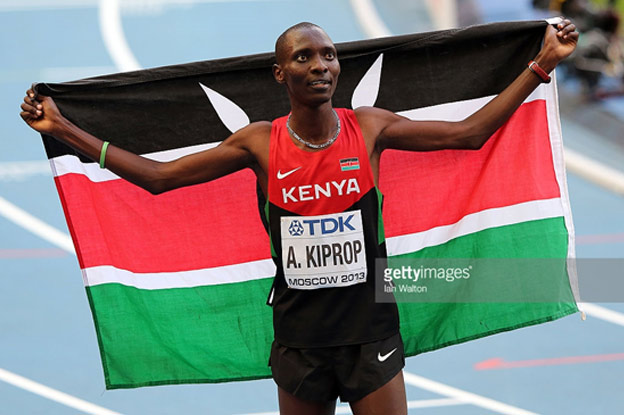 Kenya celebrates gold at IAAF World Championships in Moscow