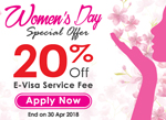 Special Offer on Women's Day!