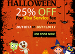Great Discount for Halloween – Oct 31, 2017