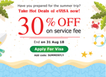 Summer 2018 hot deal of eVISA